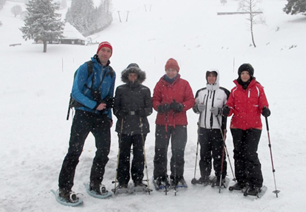 Bildergalerie Teamentwicklung (nicht löschen) - Schneeschuhtour Winter 2011